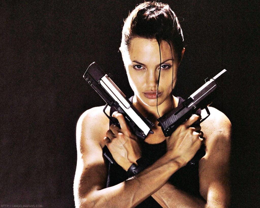 金斧头、银斧头和Angelina Jolie