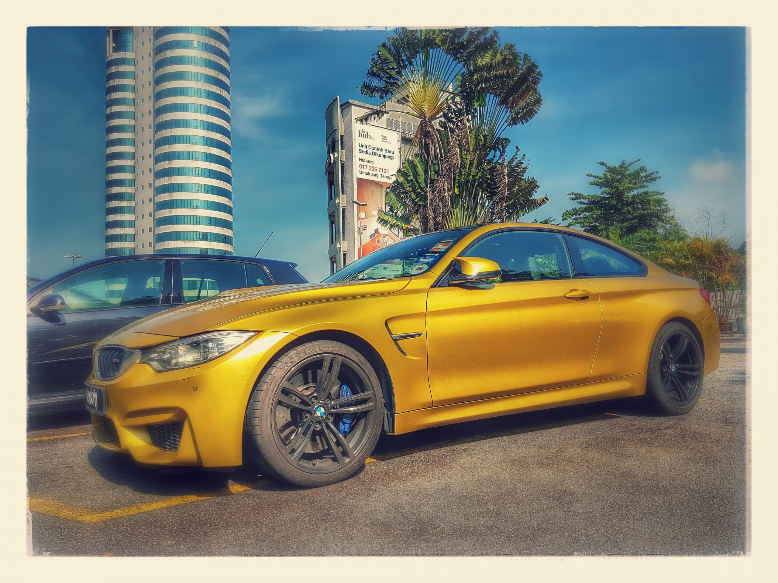 一辆BMW M4 等于 81种车