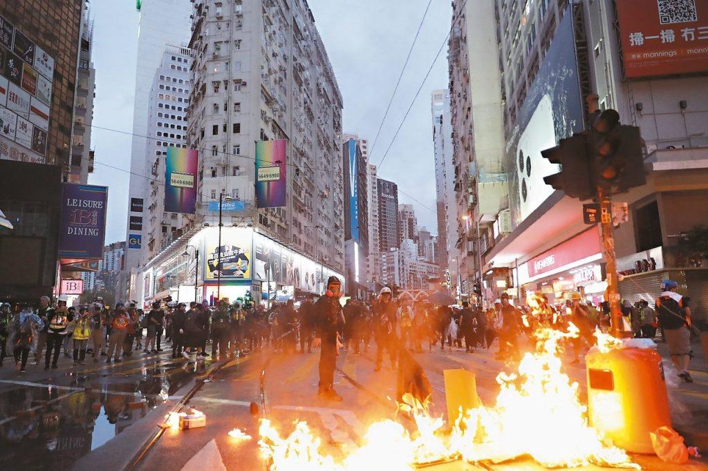 暴力是底裤!(香港加油?)