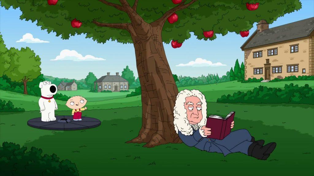 苹果没打在牛顿头上