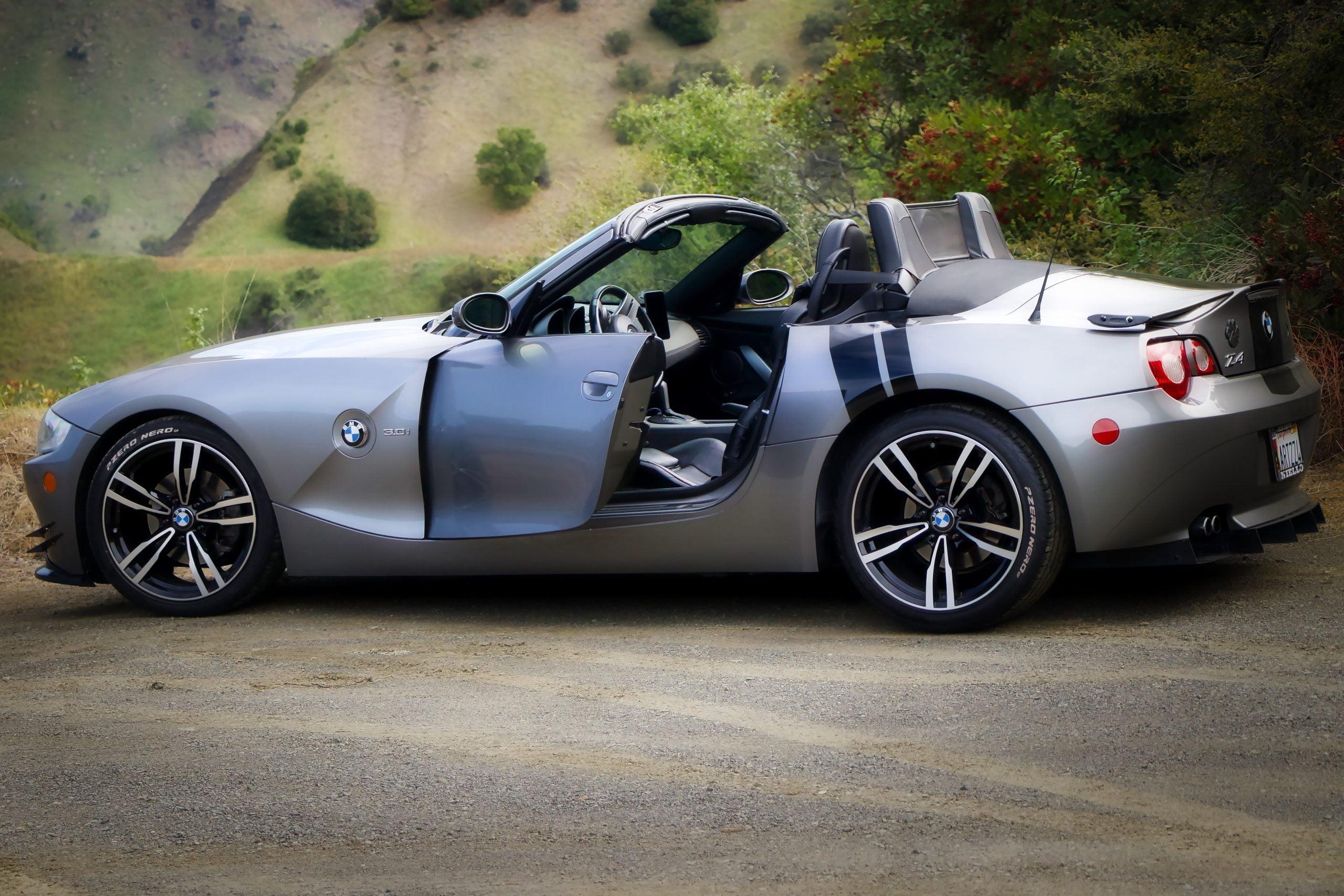 bmw, z4, sports car