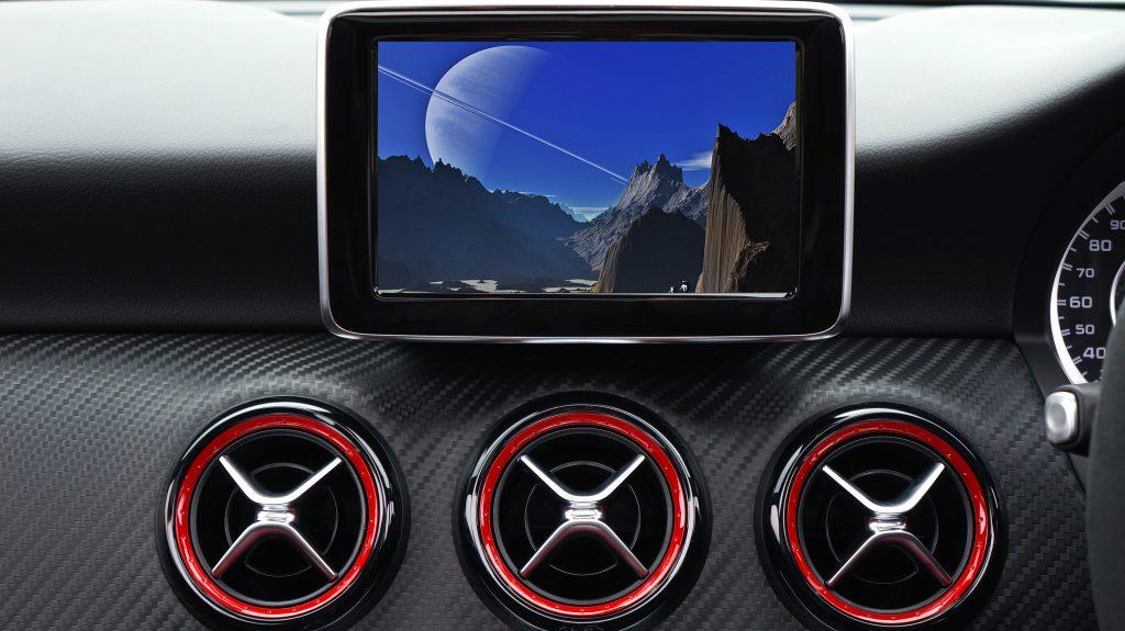 车厢里的科技