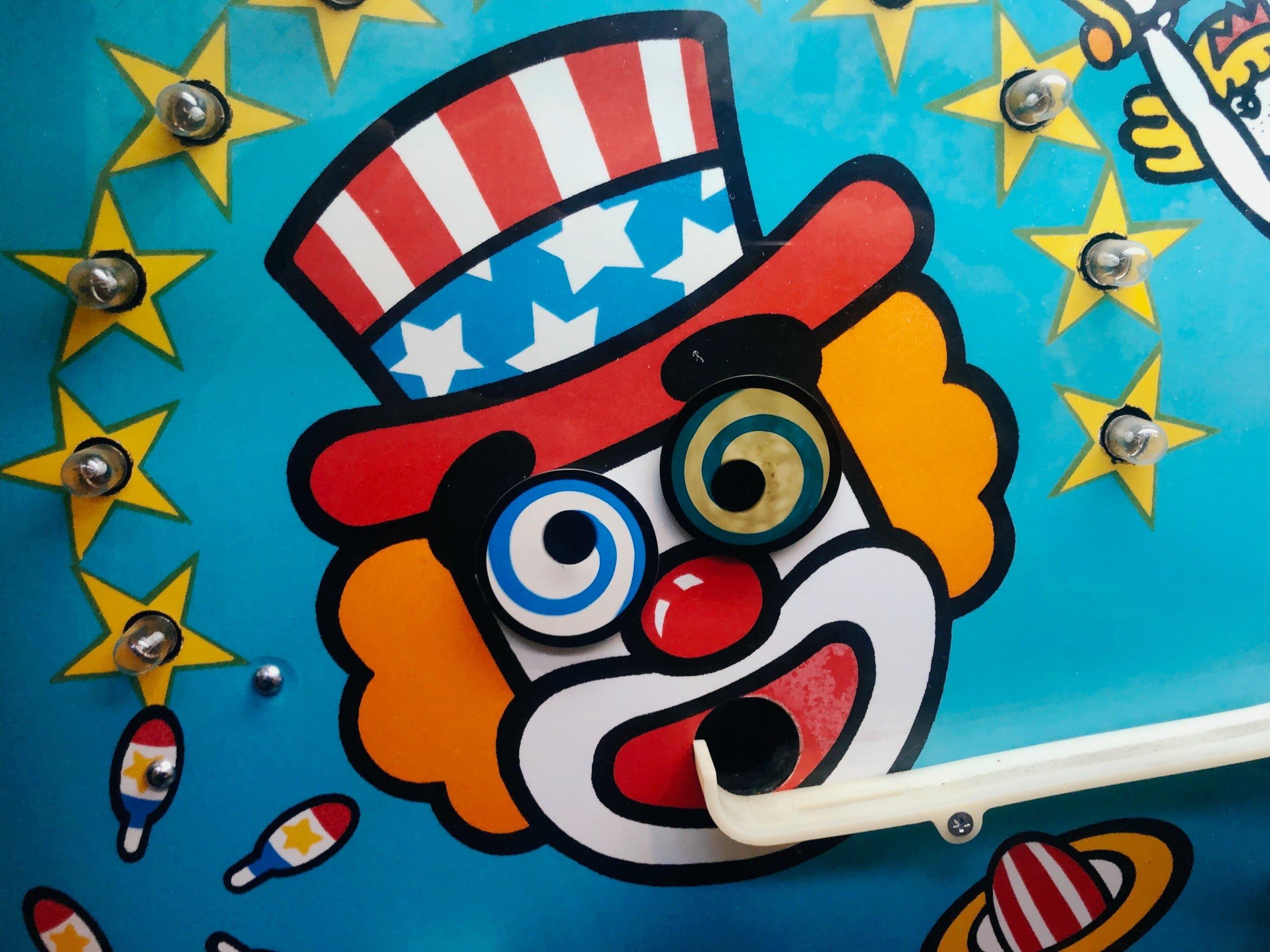 clown arcade game