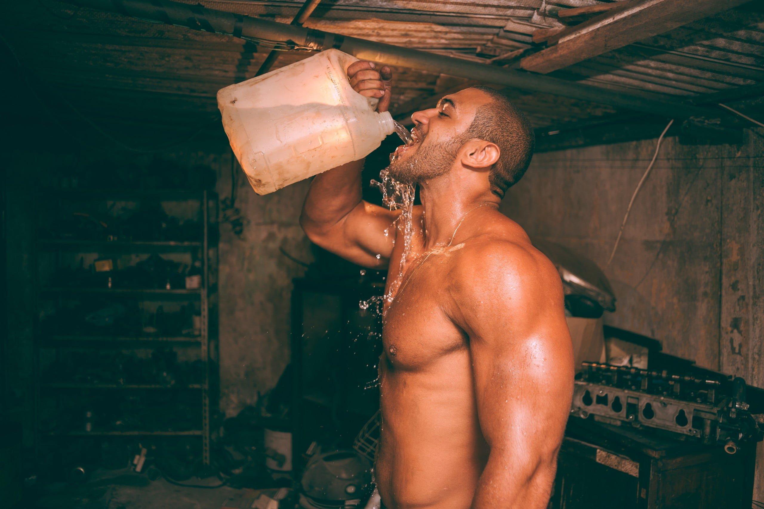 Chugging Water